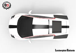 Lamborghini Murcielago Top View - artstation lamborghini gallardo 3d model shubham raj