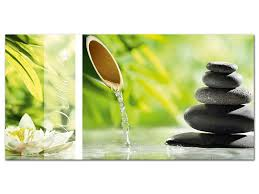 glasbilder für badezimmer de wandbild glasbild acrylglasbild für badezimmer spruch