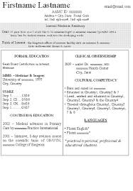 Medical Doctor Resume Example Resume by Medical Resume Template Related For 10 Letter Of Intent
