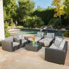 8 9 person patio sets joss u0026 main