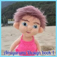 doll design book amigurumi design book 1 by sculpturingface paperback book 12