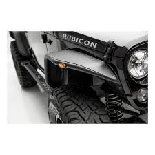 jeep black rubicon aries automotive jeep front fender flares