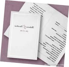 Sample Wedding Program Arden U0027s Blog Sample Wedding Program Wording