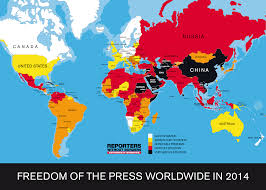 Uk World Map by Us And Uk Plunge In 2014 World Press Freedom Index U2013 The