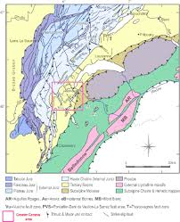 Map Of Switzerland And France by Geology Of Western Switzerland And Nearby France In A Geo Energy