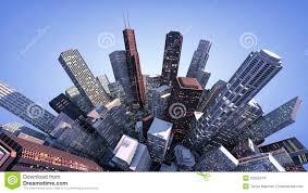 Modern City 3d Modern City Stock Images Image 32052474