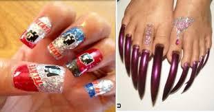 imagenes graciosas de uñas las 21 uñas más nacas y wtf de la historia la 9 te hará morir de