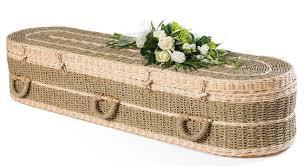 wicker casket coffins ian j arthur funeral directors