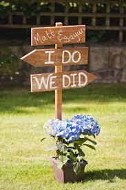 a blue and yellow washington backyard wedding every last detail