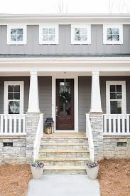 House Exterior Paint Ideas Grey Siding Paint Color Is Gauntlet Gray Sherwin Williams And