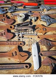 Woodworking Tools South Africa by Old Hand Tools On Display At Vintage Show Stock Photo Royalty