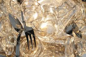 Recycled Glass Light Fixtures by Studio Re Creation U0027s Melancholic Glass Lamps Are Made From Broken