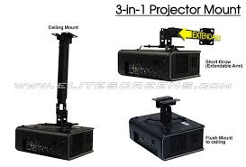 Ceiling Projector Mounts by Best Projector Mount For Sale Elite Screens