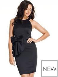 black party dresses dresses women www very co uk