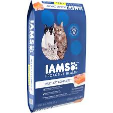 iams proactive health multi cat complete with salmon and chicken
