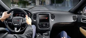 2016 dodge durango luxury interior features