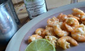 cuisine crevette crevettes épicées à la bière