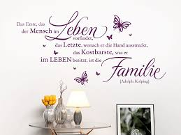 familie ist das wichtigste sprüche wandtattoo zitat über das leben tolle lebensweisheiten als