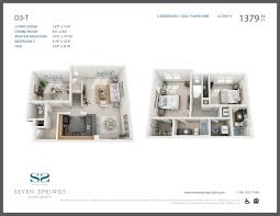 luxury townhome floor plans models seven springs luxury apartments in burlington ma