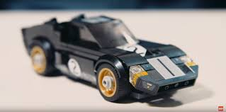 lego ford mustang how do you build a ford gt40 u0027s curves out of lego autoevolution