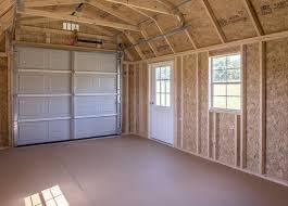 gambrel garage the gambrel garage prefab garage sheds woodtex