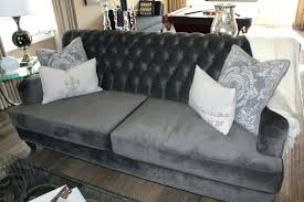 grey tufted sofa canada and loveseat bed 9795 gallery
