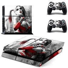 ps4 themes harley quinn suicide squad harley quinn sony ps4 console skin sticker iwisb