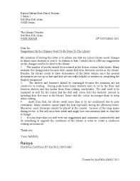 sample formal letter format sample formal complaint letter form