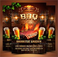 9 bbq party flyers designs templates free u0026 premium templates