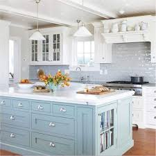 See Thru Chinese Kitchen Blue Island Kitchen Cabinets Traditional Blue 003 Cp500b Victorian Farm Sink