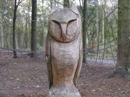 owl wood carving wood carving at guisborough walkway
