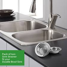 Kitchen Sink Drain Diameter Platinum Kitchen Platinum Stainless Steel Sink Drain Strainer With