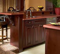 kitchen cabinet ends waypoint wet bar 720r chy bor tl24 jpg
