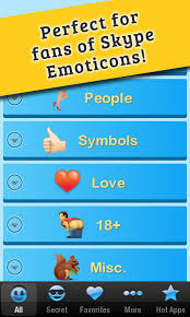 skype apk for android secret emoticons for skype 1 7 1 apk android