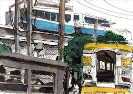 Jeepney Drawing Car Pictures