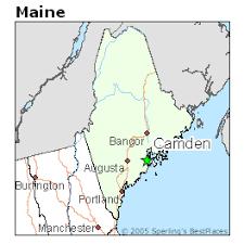 map of camden maine camden maine cost of living