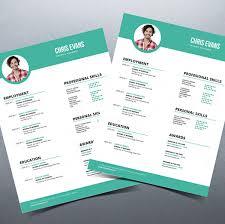 resume modern fonts for logos modern resume cv with cover letter