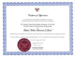 certificates of appreciation wording samples