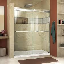 lowes sliding glass tub doors frameless sliding shower door glass