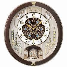 seiko melody wall clock melos in motion kaliedoscope musical wall
