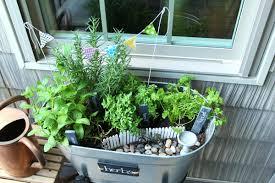 mini herb garden gardening ideas