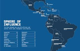 Map Of Bolivia South America by Sphere Of Influence How American Libertarians Are Remaking Latin
