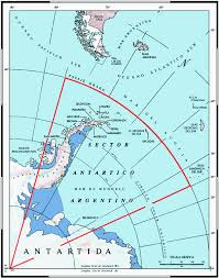 Antartica Map Argentine Antarctic Stations Map Is In Spanish It Includes The