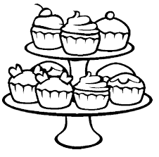 wide range cupcake coloring pages cookie coloring pages