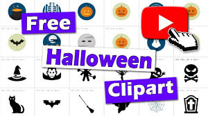 where to find free halloween clipart youtube