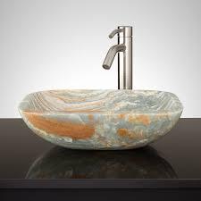 stone vanity sink signature hardware