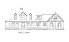 low country farmhouse plan with wrap around porch