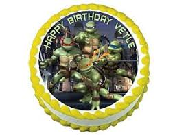 tmnt cake topper tmnt mutant turtles edible frosting cake