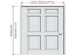 Standard Door Sizes Interior Bedroom Door Height Beautiful Standard Interior Door Height