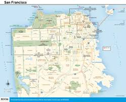 Tourist Map Of San Francisco by Printable Travel Maps Of Coastal California Moon Com